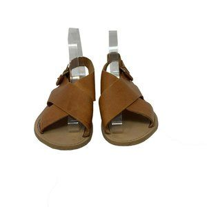 Zara Basic Women's Back Strap Buckle Sandal 8.5 US